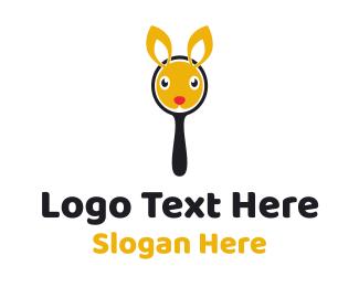 Mirror - Bunny Mirror logo design