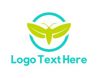 Beetle - Green Firefly logo design