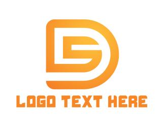 Esports - Golden D & S logo design