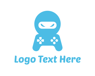 Console - Ninja Controller logo design