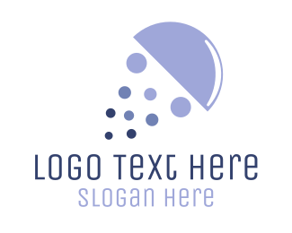 Jellyfish - Purple Jellyfish logo design