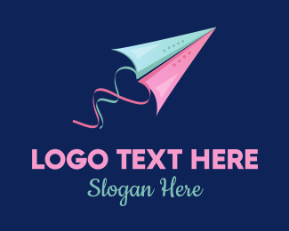 Courier - Kites Love  logo design