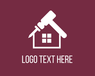 Roofing - Home Repair logo design