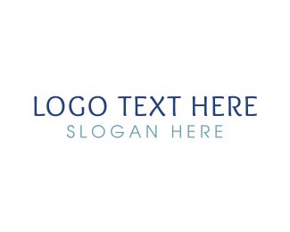 Legible - Casual & Blue logo design