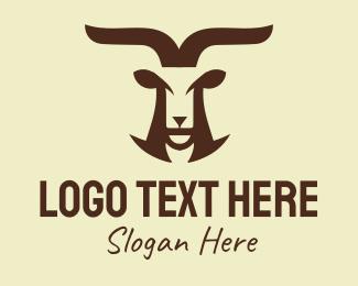 Glory - Golden Goat logo design