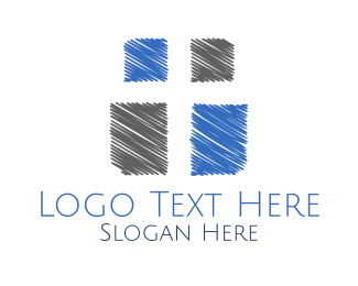 God - Christian Cross logo design