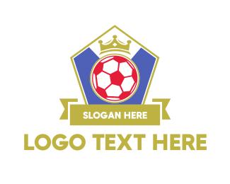 """King Soccer Emblem"" by MaherSh"