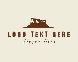 Outdoor - Desert Mountain logo design
