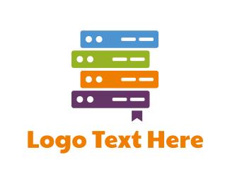 Host - Data Books logo design