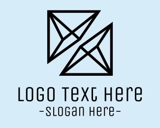 Polygon - Prism Duo logo design