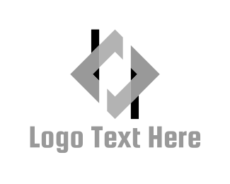 Black And Gray - Silver Frame logo design