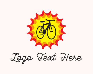 Bicycle - Bright Bike logo design