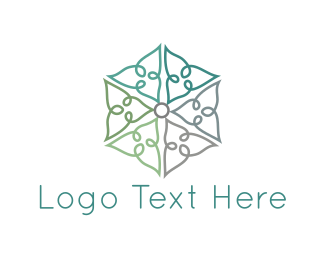 Home Accessories - Floral Decoration logo design