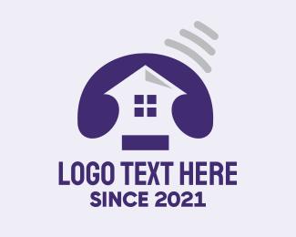 Call - Telephone Homes logo design
