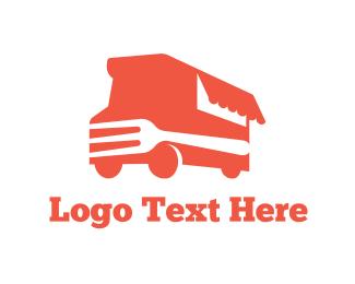 Truck - Fork Truck logo design