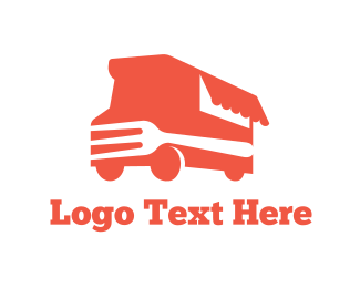 Food Truck - Fork Truck logo design