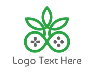 Drugs - Green Cannabis Controller logo design