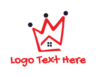 Home - Red Crown House logo design