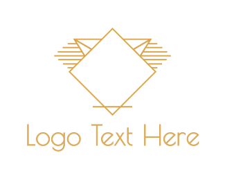 Luxury - Golden Diamond logo design