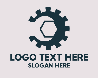 Workshop - Gear Wrench logo design