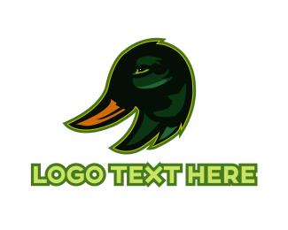 Lake - Duck Head logo design