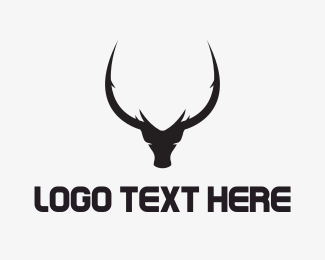 Hunting - Black Bull logo design