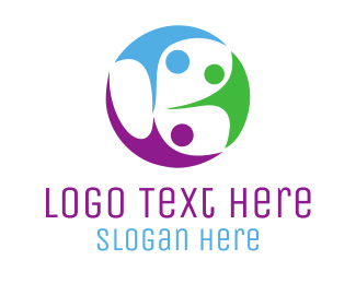 Human Resource - Family Community logo design