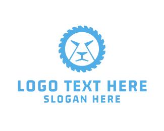 Wheel - Lion Wheel logo design