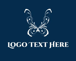Lingerie - Delicate Butterfly logo design