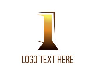Open - Open Door logo design
