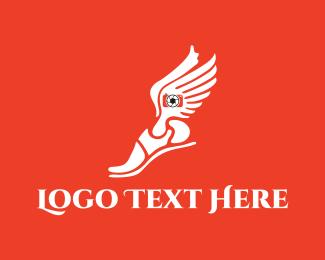 Footwear - Hermes Photography logo design
