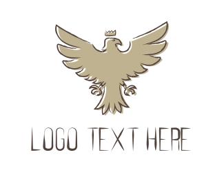 Falcon - King Eagle logo design
