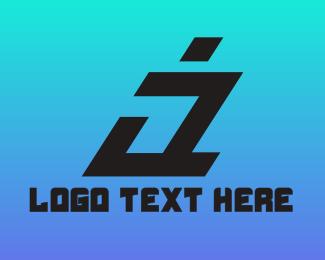 Clan - Modern Italic A logo design