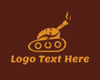 Bean - Coffee Tank logo design