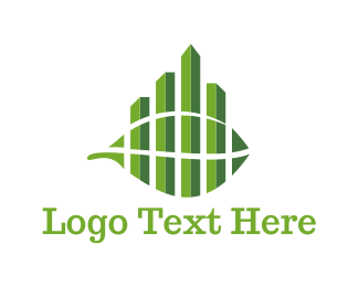 Urban - Green City logo design