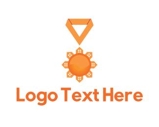 Medal - Broker Medal logo design