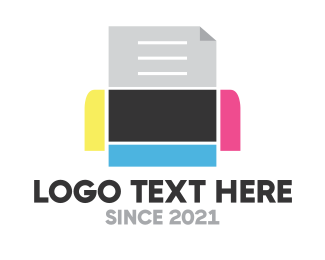 Bot - Robo Print logo design