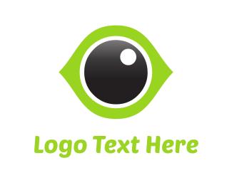 Ophthalmology - Green Eye logo design