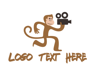 Monkey - Monkey Film logo design