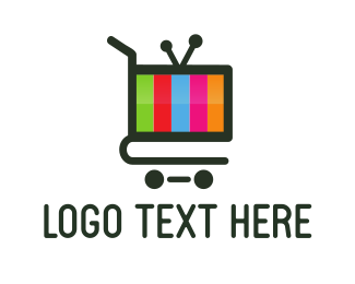 Television - Cart Media logo design
