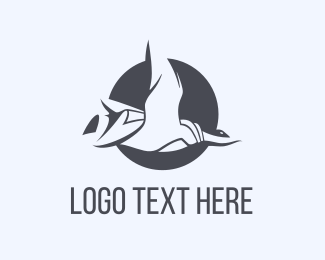 Canada Goose - Duck Circle logo design