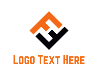 Letter F - Abstract Letter F logo design