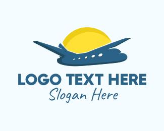 Sunny - Sunny Flight  logo design