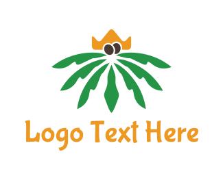 Ruler - Palm King logo design