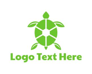 Tortoise - Eco Turtle logo design