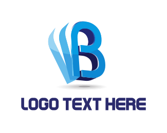 """""""Blue Letter B"""" by oniwebs"""