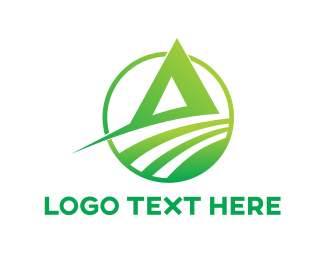 Agronomy - Gradient Abstract A logo design