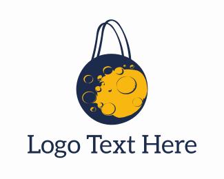 Ecommerce - Moon Shopping logo design