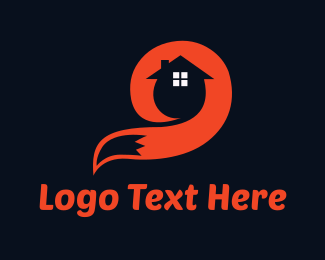 House - Fox House logo design