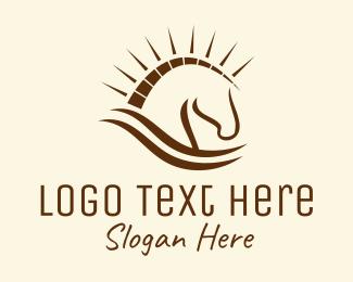 Domestic - Trojan Horse logo design